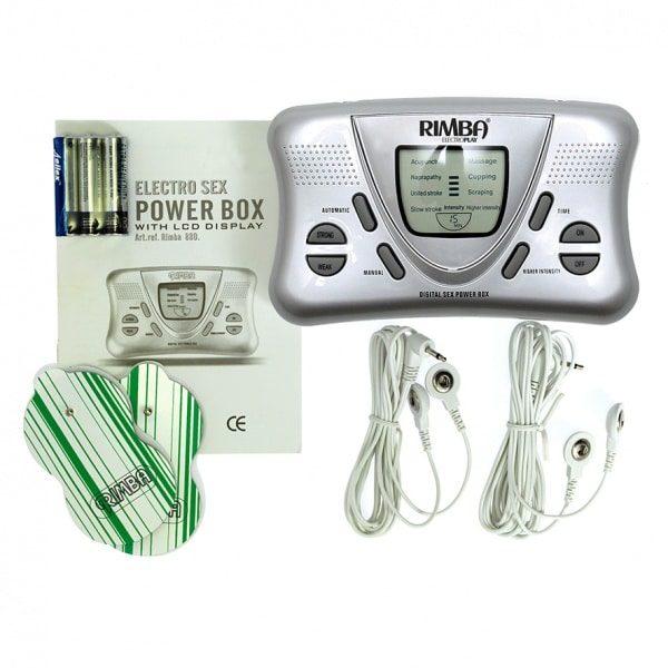 Electro Sex Power Box Sähköimpulssisäädin R7880-0