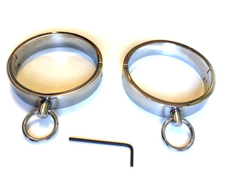 Steel Cuffs Large OP112-KIO-0001-0