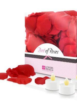 Bed Of Roses Ruusunterälehdet & LED-Tuikut E22002-0