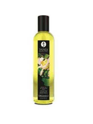 Shunga - Organica Hierontaöljy, Vihreä Tee-0