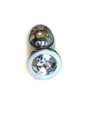Jewel Buttplug Large Clear-0