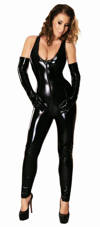Pvc-Catsuit XL-XXL LE1174-0