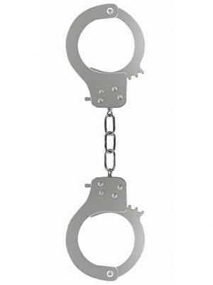 Prison Handcuffs - Metal-0