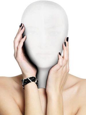 Subjugation Mask - White-0