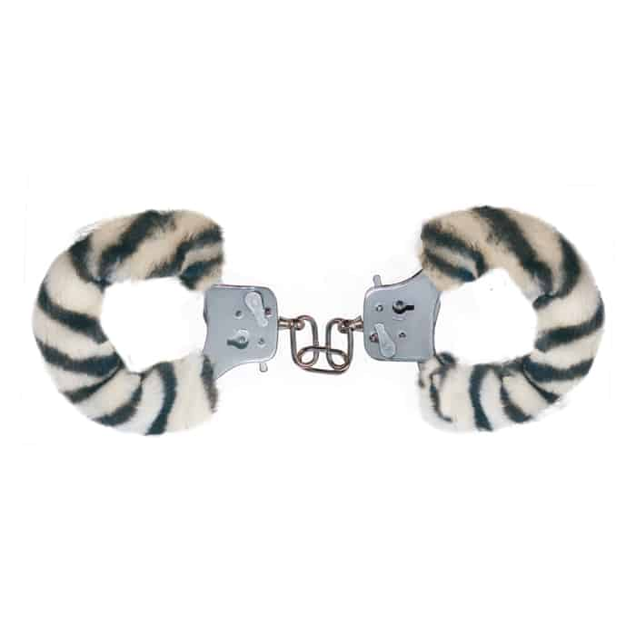 Furry Fun Cuffs Zebra Käsiraudat SC3006009509-0