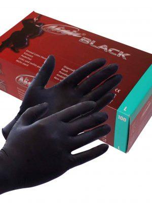 Ninja Black Kertakäyttökäsineet 100 Kpl R7289-0