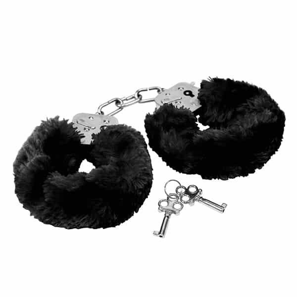Pehmustetut Käsiraudat, Musta R8001-0