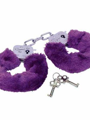 Pehmustetut Käsiraudat, Violetti R8002-0