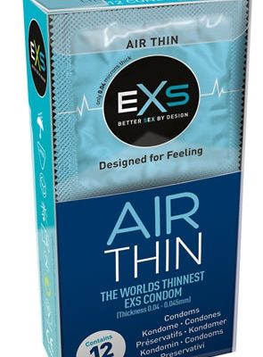 EXS Air Thin Kondomit 12 Kpl-0