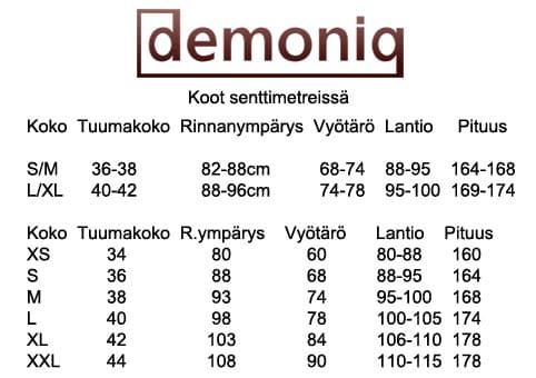 Demoniq - Chantal Black Swimsuit-110920