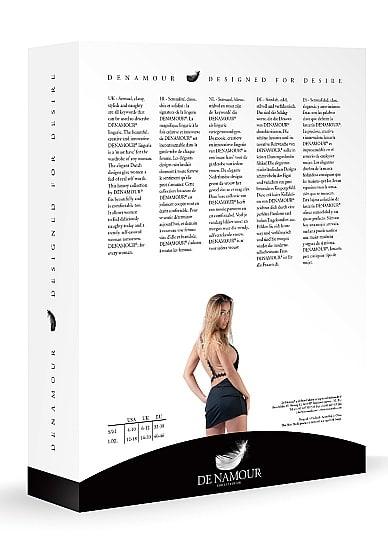 Mini Dress With Open Back - Black L/XL-110419