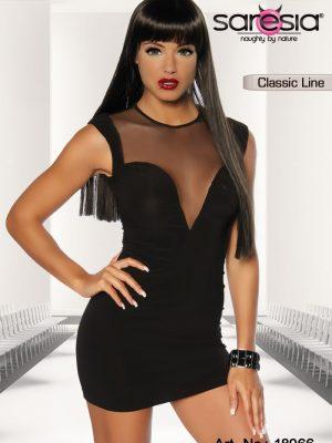 Clubwear Minimekko Musta SA18066-0