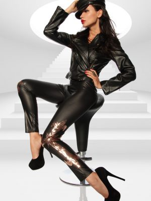Wetlook-Leggingsit SA12603-0