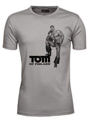 Tom Of Finland - T-paita, Khaki, Koko M-0