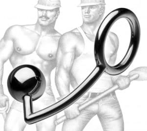 Tom Of Finland - Anal Ball Cock Ring 51 mm-0