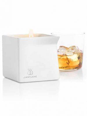 JimmyJane - Afterglow Hierontaöljykynttilä, Bourbon-0