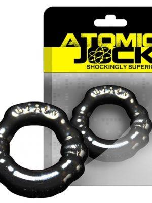 Atomic Jock - 6-Pack Penisrengas, Musta-0