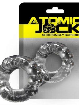 Atomic Jock - 6-Pack Penisrengas, Kirkas-0