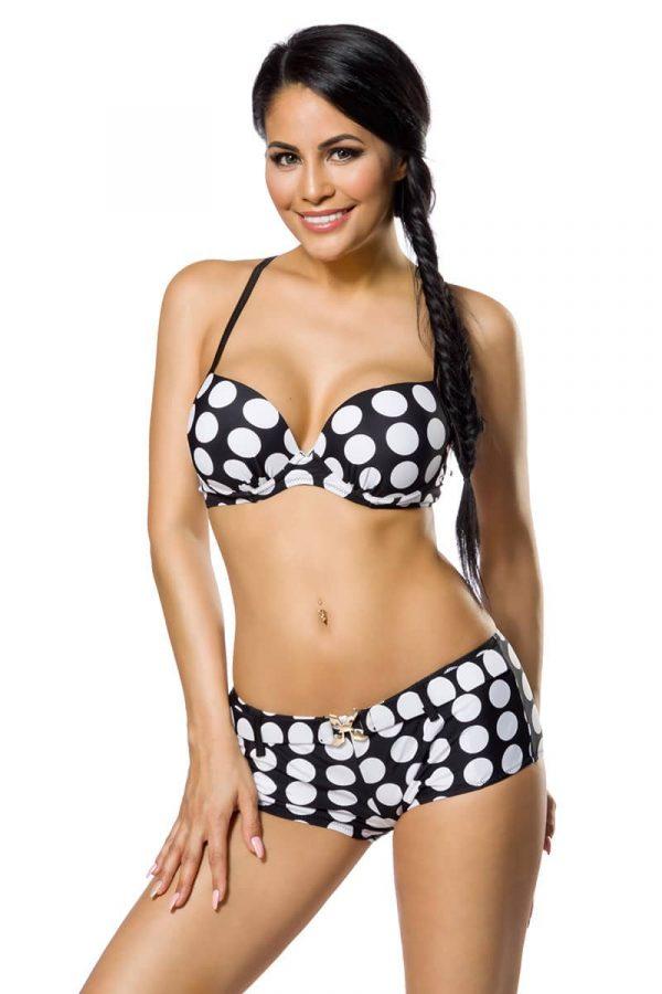 Push-Up Bikinisetti Musta-Valkoinen SA12029-122485