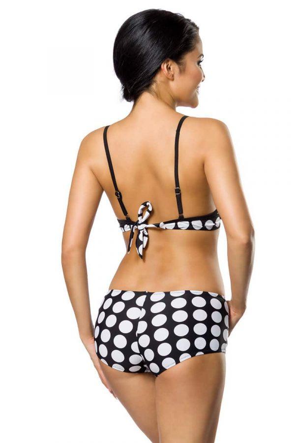 Push-Up Bikinisetti Musta-Valkoinen SA12029-122482