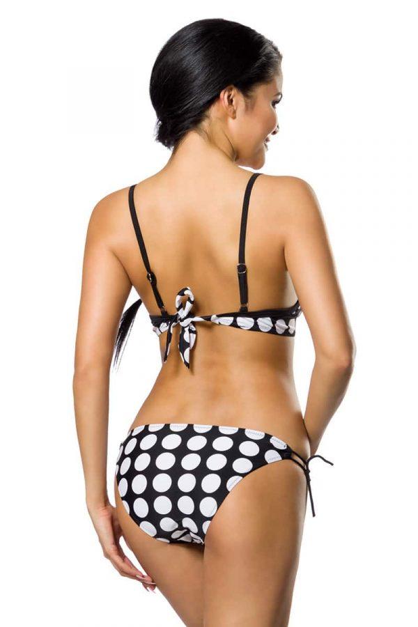 Push-Up Bikinisetti Musta-Valkoinen SA12029-122487