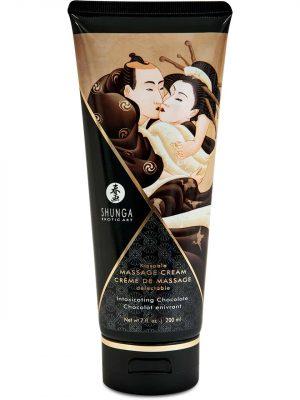 Shunga - Kissable Massage Cream, Suklaa-0