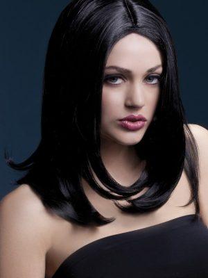 Peruukki Sophia Musta KE-FV42505-0