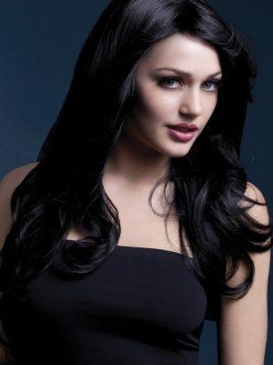 Peruukki Nicole Musta KE-FV42525-0