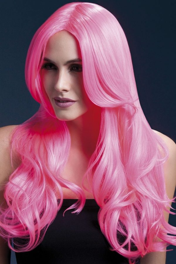 Peruukki Khloe Neon Pink KE-FV42545-0