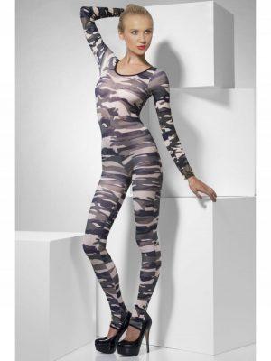 Bodysuit Camouflage KE-FV26818 -0