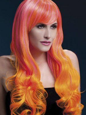 Peruukki Emily Pinkki-Oranssi KE-FV42559-0