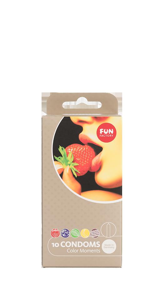 Fun Factory - Color Moments Kondomit 10 Kpl-0