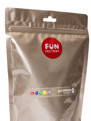 Fun Factory - Color Moments Kondomit 50 Kpl-0