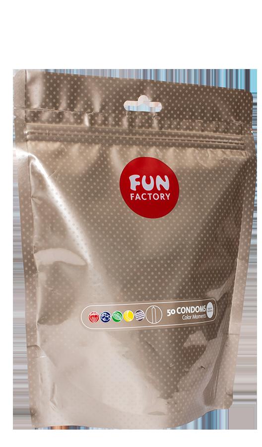 Fun Factory - Color Moments Kondomit 50 Kpl-0