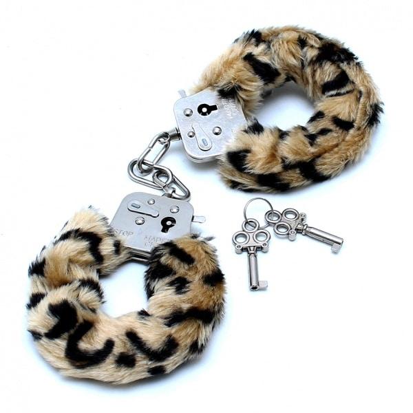 Pehmustetut Käsiraudat, Leopardi R8101-0