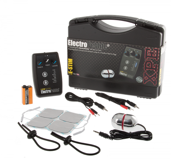 E-Stim - ElectroPebble XPE Tuotesetti ES5060400401574-0
