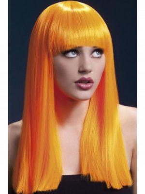 Peruukki Alexia Neon-Oranssi KE-FV42360-0