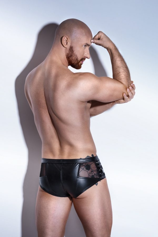 Noir Handmade - Powerwetlook Shortsit H046-134471