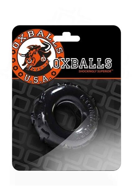 Oxballs - JellyBean Penisrengas, Musta-0