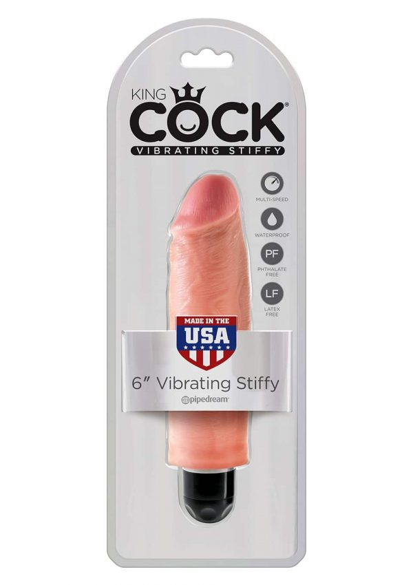 "King Cock - Stiffy 6"" Vibraattori -135126"