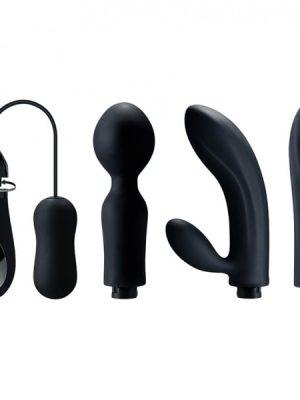Dorr - Mystic Exchangeable Head Vibraattorit, Musta-0